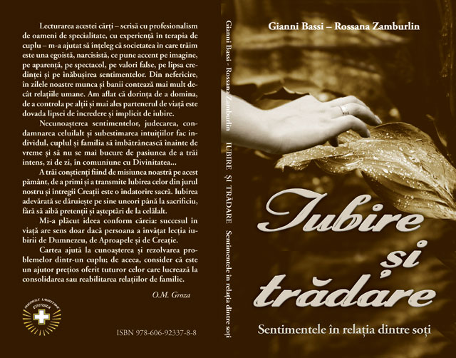 """O noua carte tradusa: """"Iubire si tradare – sentimentele în relatia dintre soti"""","""