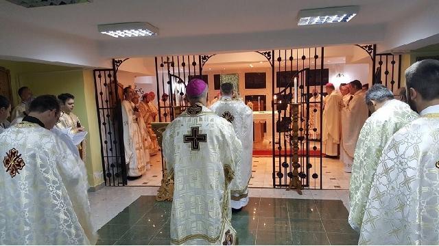 Sfânta Liturghie celebrata de Episcopii catolici la Capela Arhiereilor,