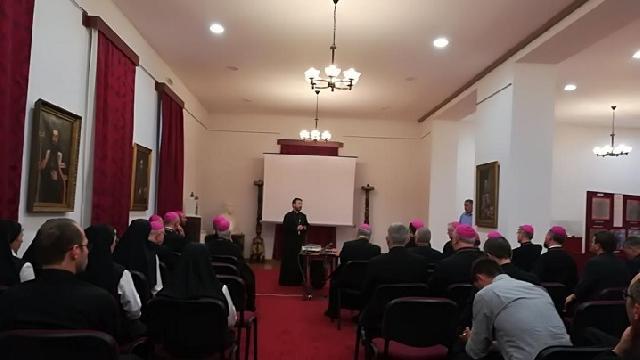 Prezentare de film si expozitie de antimise greco-catolice,
