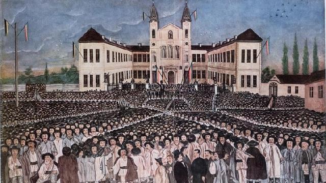 170 de ani de la Adunarea Nationala de la Blaj,
