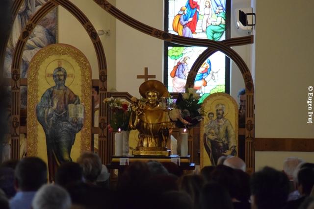 Relicva cu moastele Sfântului Anton la Oradea,