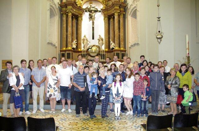 Pelerinajul comunitatilor greco-catolice române din Austria la Mariazell,