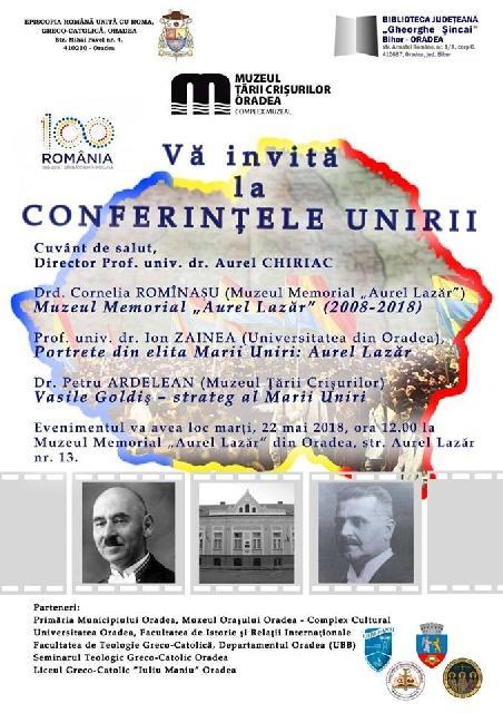 Invitatie: Conferintele Unirii 5,
