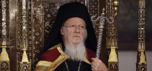 Patriarhul Bartolomeu viziteaza Bazilica Sfintilor Apostoli din Roma,