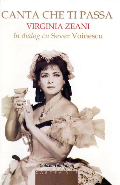 """A aparut cartea """"Virginia Zeani în dialog cu Sever Voinescu"""","""