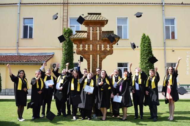 """""""Festivitatea de absolvire a Promotiei 2018 a Universitatii """"Babes – Bolyai"""", Facultatea de Teologie Greco-Catolica, Departamentul  Oradea"""","""