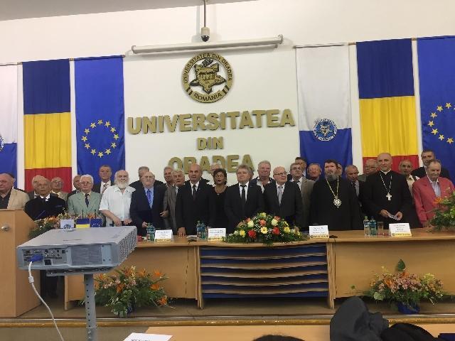 """Universitatea din Oradea: 37 de cadre didactice au primit titlul de """"profesor emerit"""","""