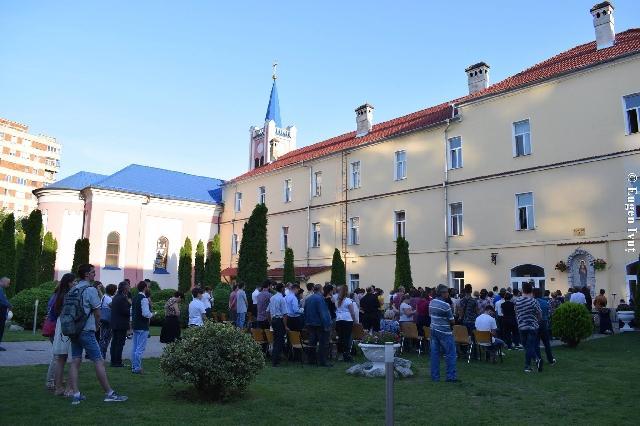 Eparhia de Oradea si Seminarul Teologic au fost consacrate Inimii Neprihanite a Fecioarei Maria si Spiritului Sfânt,