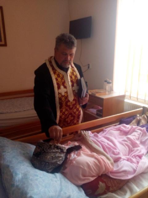 Taina Sfântului Maslu în Parohia Dumbrava,