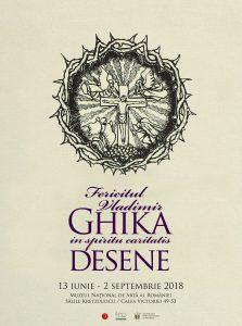 COMUNICAT DE PRESA: Peste 200 de desene si gravuri ale lui Vladimir Ghika expuse în premiera la Muzeul National de Arta al României,