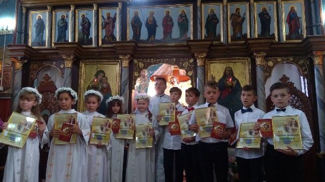 Prima Sfânta Împartasanie la Sântandrei,
