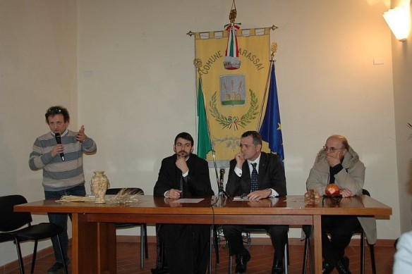 """Întâlniri italo-române la Petritoli si Carassai, Italia"","