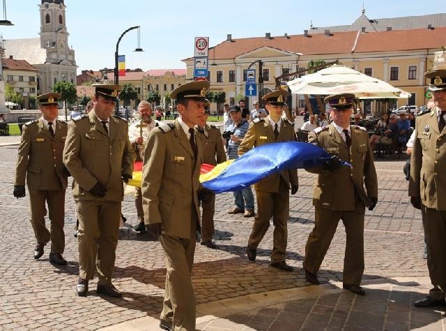 """""""Ziua Drapelului, sarbatorita în centrul Oradiei"""","""