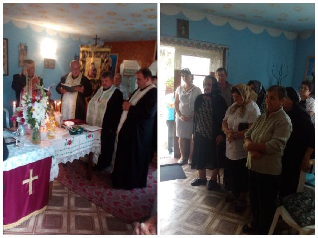 Taina Sfântului Maslu în Parohia Petid,