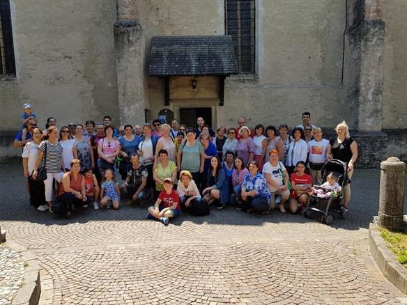 Pelerinajul comunitatii din Vicenza la Sanctuarul San Romedio – Bazilica Martiri Anauniensi – Castel Thun,