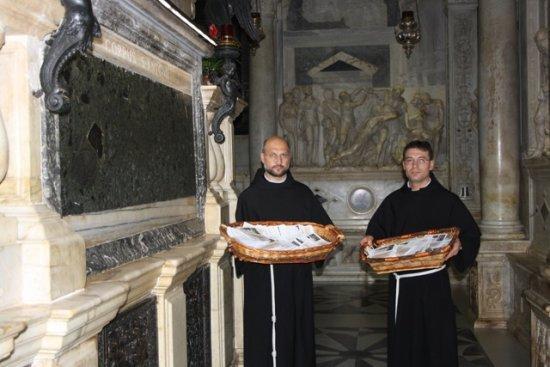 Comunicat de presa:  Încheierea pelerinajului national cu relicva sfântului Anton de Padova  7 mai – 13 iunie 2018,