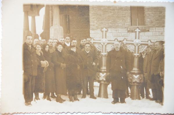 """""""Protopopul Ilie Calauz, ctitor al bisericii din Cehu Silvaniei"""","""