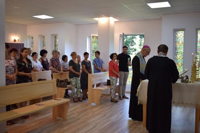 """Sfintirea Capelei din incinta Centrului rezidential """"Casa Frentiu"""","""