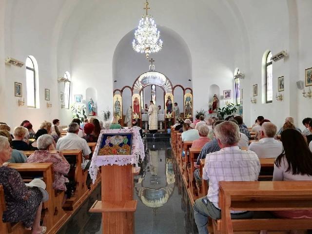 Hramul Bisericii Greco-Catolice din Stei si Întâlnirea Reuniunii Mariane din protopopiatul Beius,