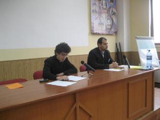 """Sesiune de comunicari la Seminarul Teologic Greco-Catolic ""Sfintii Vasile, Grigore si Ioan"" din Oradea"","