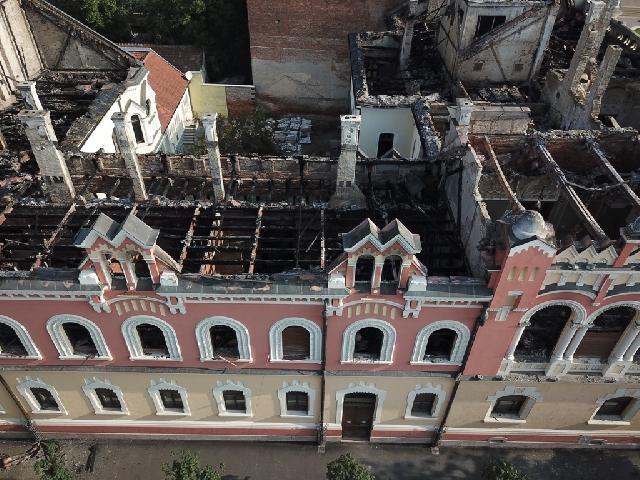 Unde se pot face donatii pentru reabilitarea Palatului Episcopal din Oradea?,
