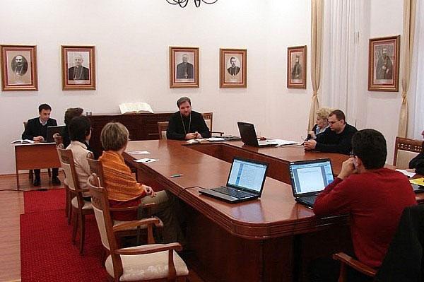 """""""Întâlnirea responsabililor media din eparhiile BRU, Blaj – 17 martie 2011"""","""