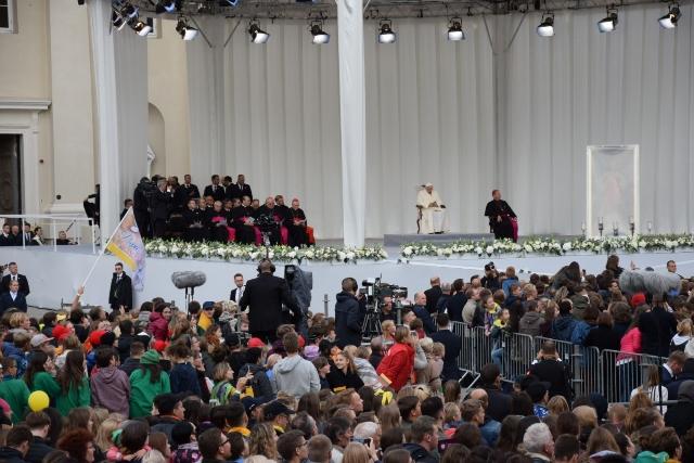 Vizita Sfântului Parinte în Tarile Baltice,