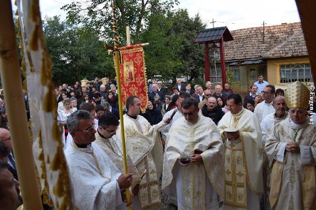 Sfintirea noii Biserici din Becheni-Chisau,