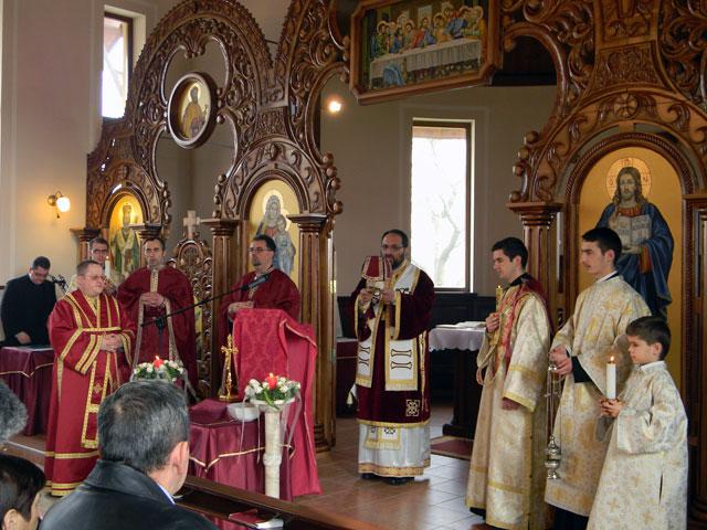 """Vizita P.S. Mihai Fratila în Parohia """"Duminica Tuturor Sfintilor"""" din Oradea,"""