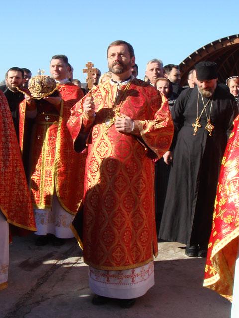 """""""Papa Benedict al XVI-lea l-a primit în audienta pe noul arhiepiscop major de Kiev, P.F. Sviatoslav Sevciuk"""","""