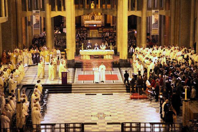 Hirotoniri de episcopi la Bruxelles,