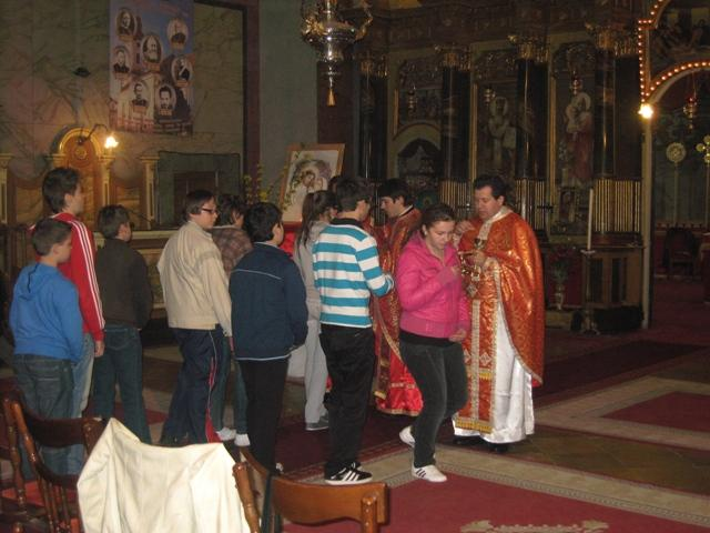 Exercitii Spirituale pentru elevii Liceului Teologic Greco-Catolic,