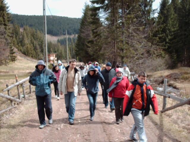 Elevii Liceului Teologic Greco-Catolic din Oradea în excursie la Arieseni,