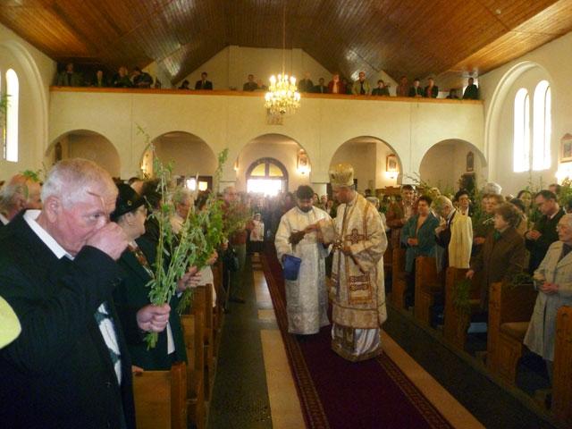 """Liturghie Arhiereasca la Manastirea """"Maica Domnului"""" de Florii,"""