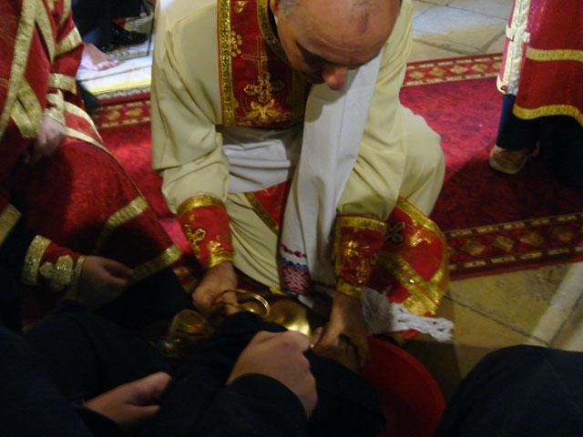 """Meditatie asupra """"Ritualului spalarii picioarelor"""","""