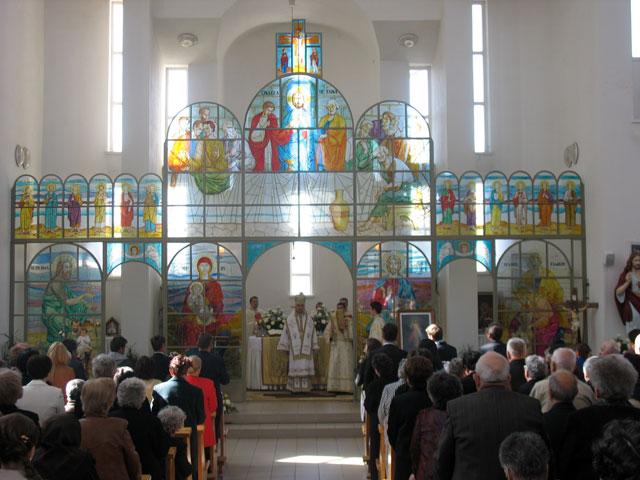 Liturghie arhiereasca si hirotonire de preot la Zalau,