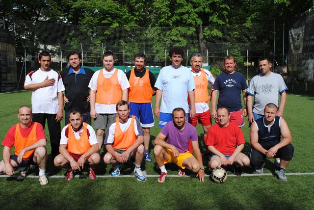 Campionatul de fotbal al parintilor claselor Step by Step ale Liceului Teologic Greco-Catolic din Oradea,