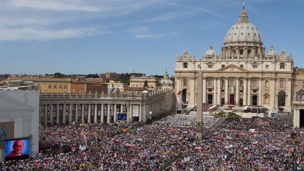 Beatificarea Papei Ioan Paul al II-lea. Ziua a II-a: Ziua cea Mare,
