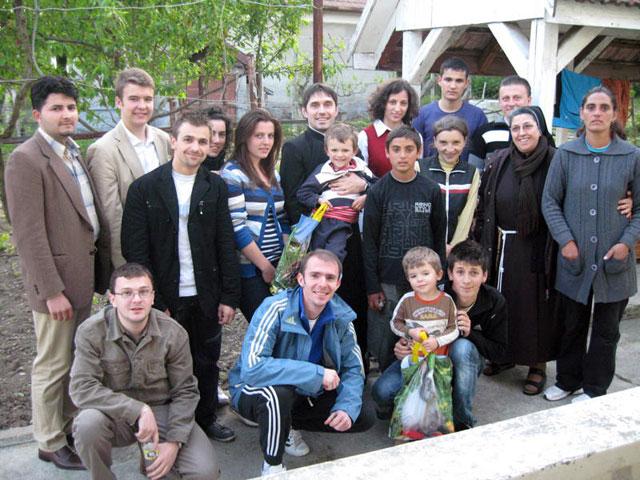 Vizita la familiile sarace din Oradea,