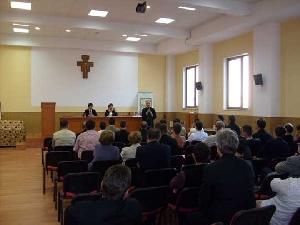 Simpozionul international Teologie si spiritualitate în operele Sfintilor Vasile cel Mare si Grigore din Nazians,