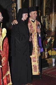 Primirea hainei monahale,