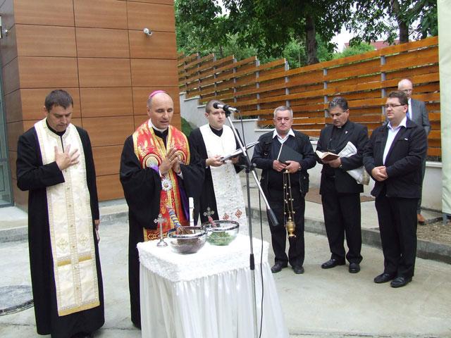 Sfintirea Centrului pentru Boli Rare la Zalau,