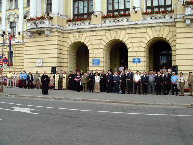 Ziua Imnului National sarbatorita la Oradea,