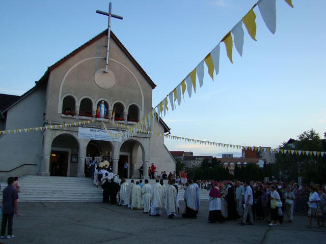Sarbatoarea Adormirii Maicii Domnului la Manastirea Franciscana din Oradea,
