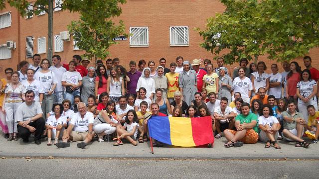 Tinerii din Eparhia de Oradea la Întâlnirea Mondiala a Tineretului de la Madrid,