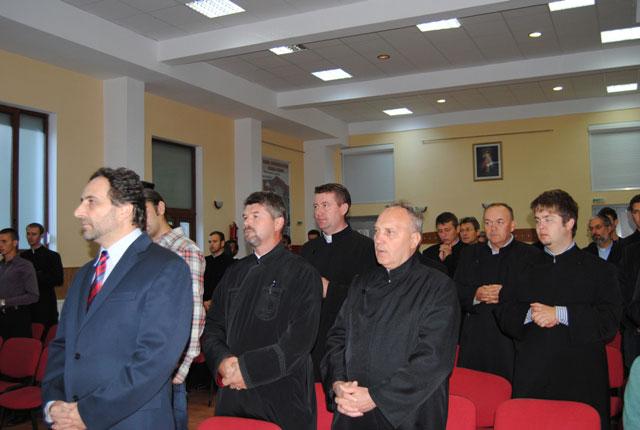 Deschiderea anului universitar 2011-2012 la Facultatea de Teologie Greco-Catolica din Oradea,