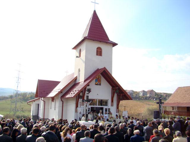 """""""Sfintirea bisericii din Cehei-Pusta, Simleu Silvaniei"""","""