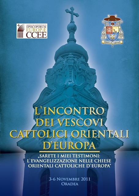 """""""Porgramul deschis publicului la Întalnirea Episcopilor Orientali, Oradea, 3-6 noiembrie 2011"""","""