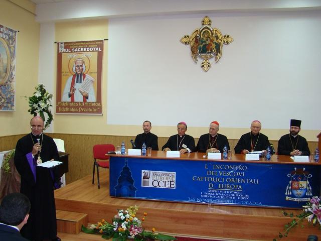 Deschiderea oficiala a Sinodului Episcopilor Catolici Orientali din Europa,