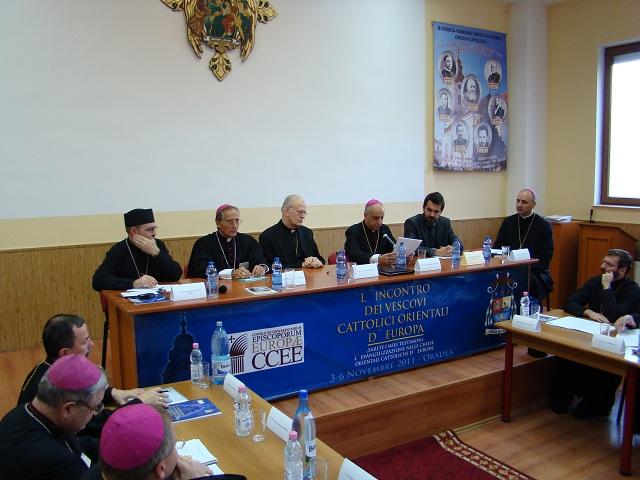 A doua zi a Sinodului Episcopilor Catolici Orientali din Europa,